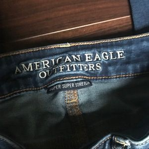 American Eagle Outfitters Jeans - AEO Super Super Stretch Distressed Jegging Sz 0